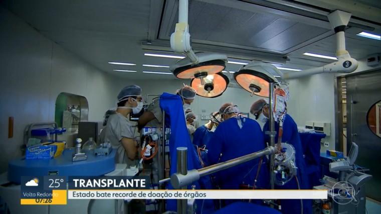RJ bate recorde de transplantes: foram 304 doações em 2019
